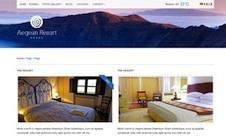 Responsive Hotel Template - Aegean Resort