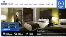 Hotel Wordpress Theme - GuestHouse