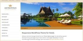 Responsive Hotel Theme - Metropolis