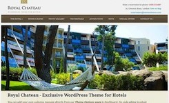 Responsive Hotel Template - Royal Chateau