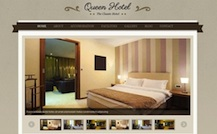 Hotel Wordpress Theme - Queen Hotel
