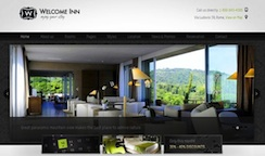 Hotel Wordpress Theme - Welcome Inn