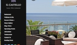 Responsive Hotel Theme - Castello
