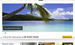 Responsive Hotel Theme - Paradise Hotel