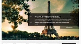 Responsive Hotel Wordpress Theme - SixtyOne